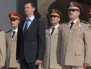 assad with army-230x300
